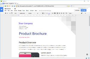Google Docs en BriskBard