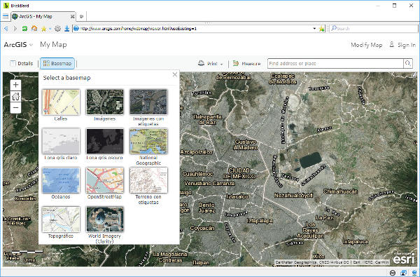 ArcGIS on BriskBard