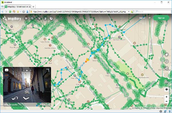 Mapillary on BriskBard
