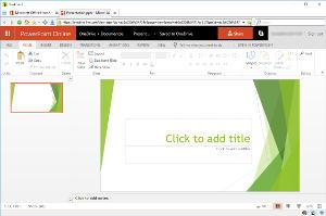 Microsoft PowerPoint Online en BriskBard
