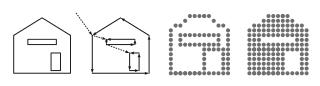 Comparación de gráficos vectoriales y de mapa de bits. © Vierge Marie
