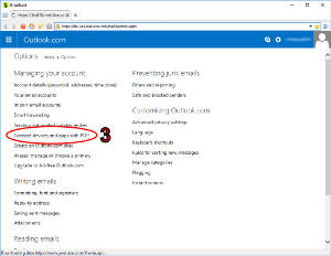 How do I configure my Outlook, Hotmail or Live account in BriskBard?