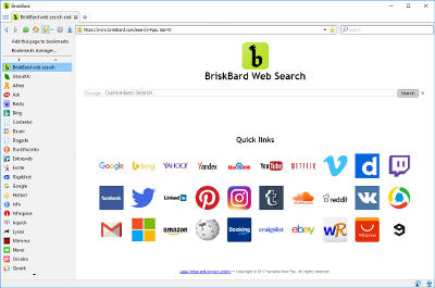 BriskBard web browser